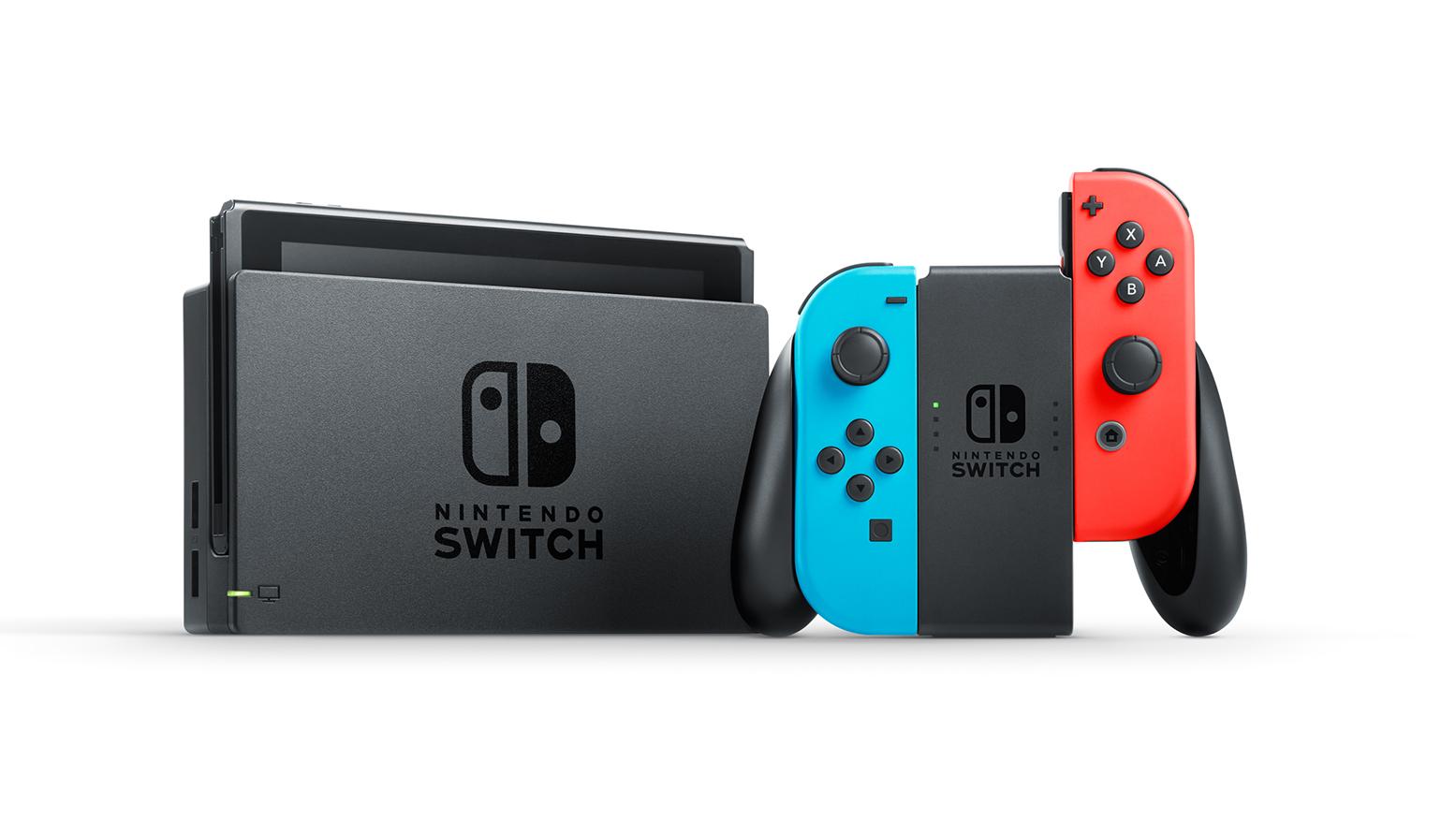 Nintendo Switch Konsole rot