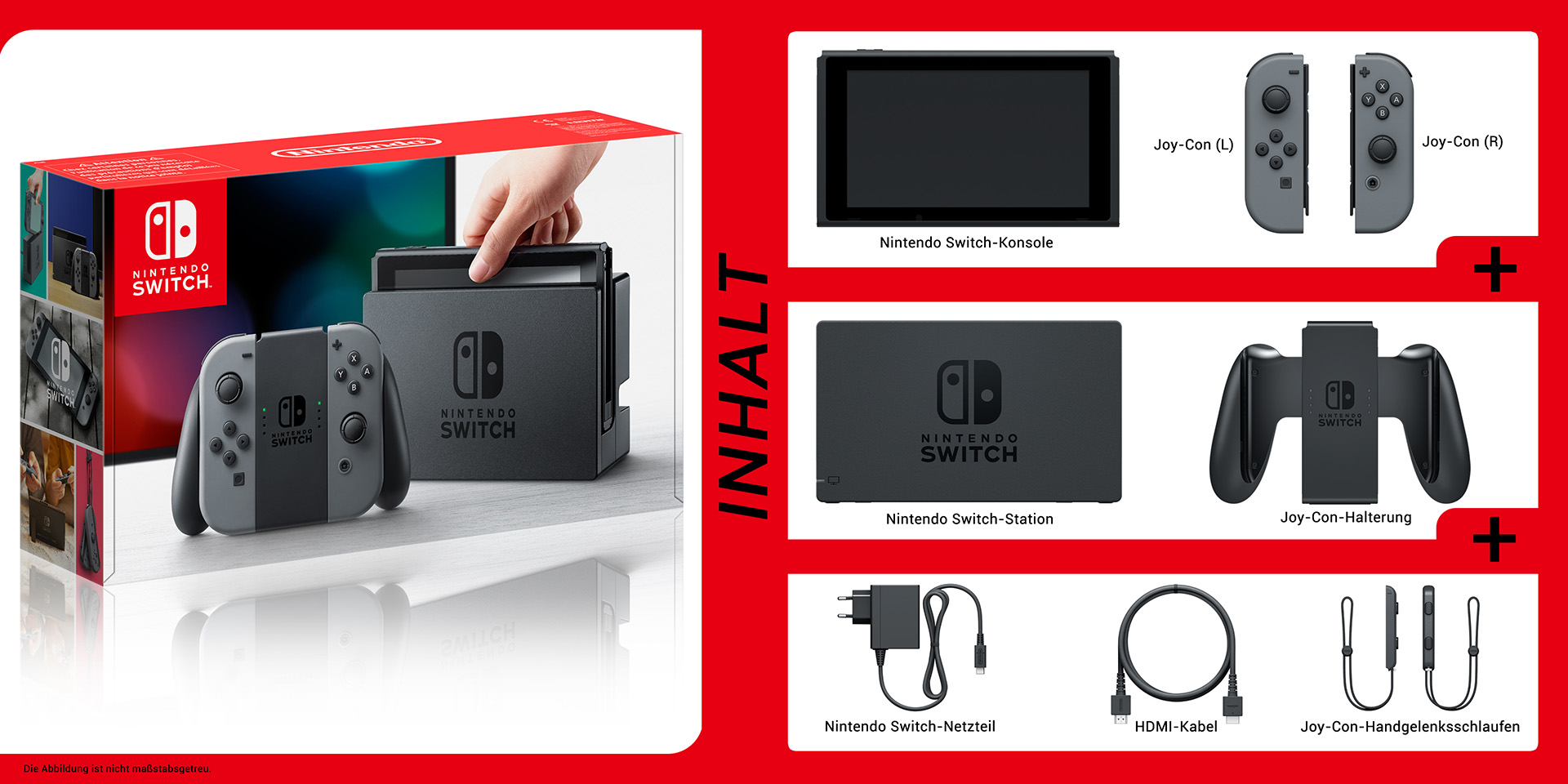 Nintendo Switch Bundle Inhalt