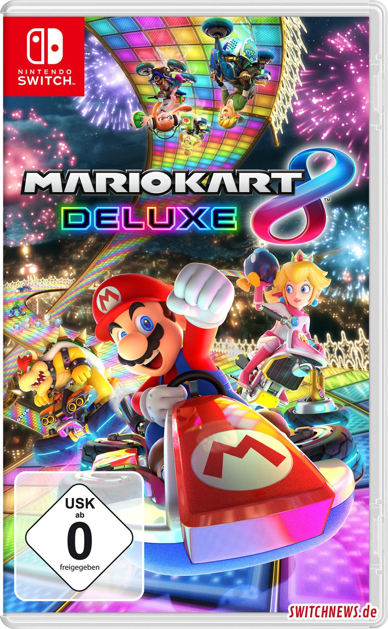 Mario Kart 8 Deluxe Cover