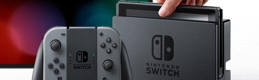 Nintendo Switch im Dock