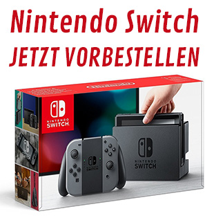 Nintendo Switch vorbestellen