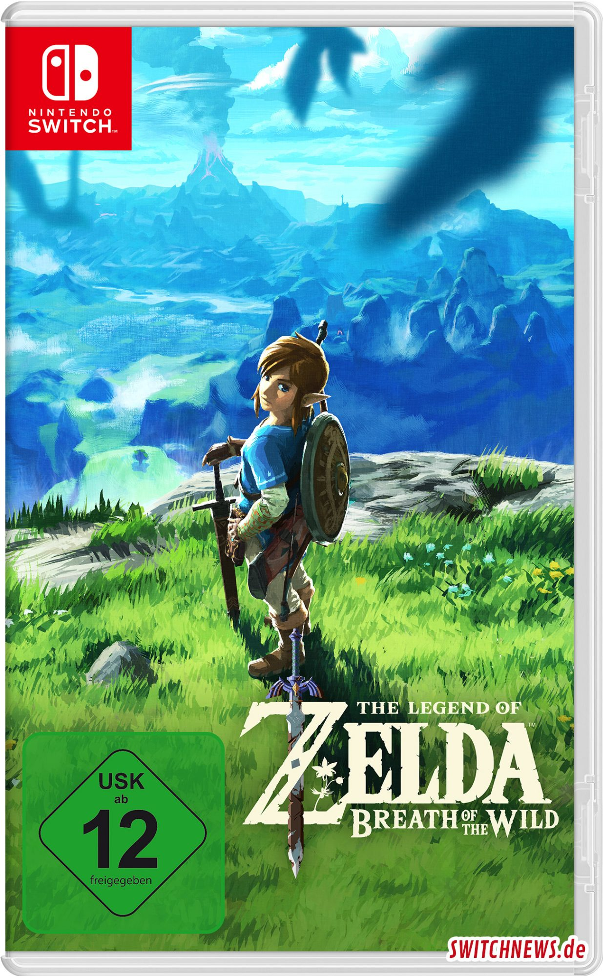 The Legend of Zelda: Breath of the Wild Cover