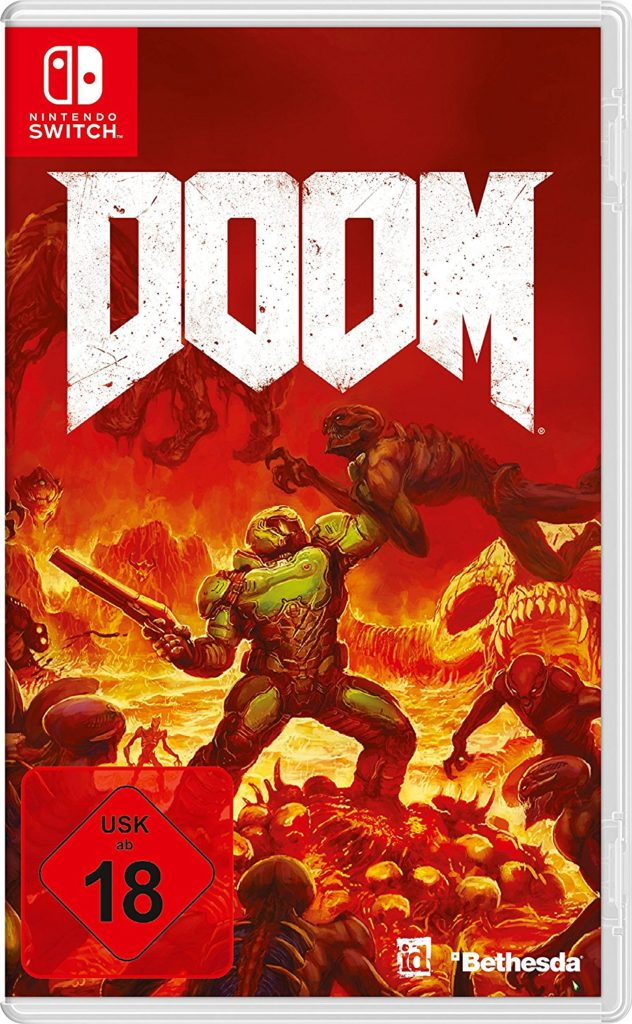 Doom Cover Nintendo Switch